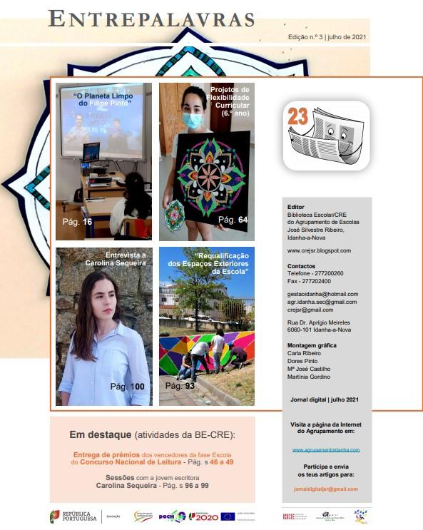 ENTREPALAVRAS – Edição n.º3 julho de 2021